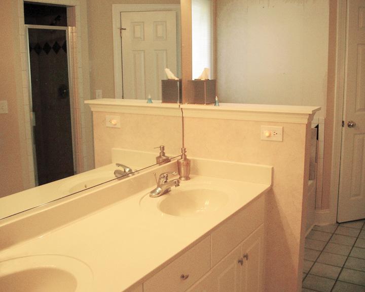 Bathroom 2 before